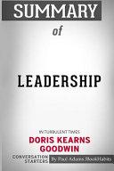 Summary of Leadership