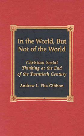 In the World  But Not of the World PDF