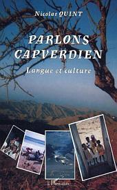 Parlons Capverdien: Langue et culture