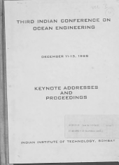 Third Indian Conference on Ocean Engineering, December 11-13, 1986, Indian Institute of Technology, Bombay: Keynote addresses and proceedings
