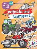 Kids Coloring Books Vehicle and Transport PDF
