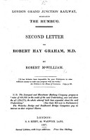 London Grand Junction Railway  surnamed the Humbug  Second letter to R  H  Graham  Second edition  with large additions PDF