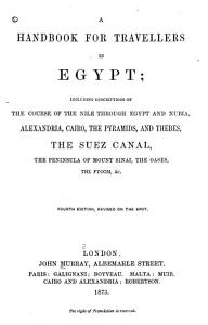 A Handbook for Travellers in Egypt PDF