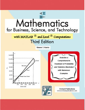 Mathematics for Business  Science  and Technology PDF