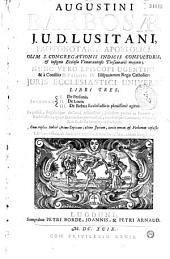 Augustini Barbosae, j. u. d. Lusitani... Juris ecclesiastici universi libri tres...