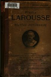 Nouveau dictionnaire illustre ...