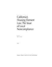 California's Housing Element Law