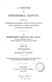 A treatise on infinitesimal calculus: Volume 4