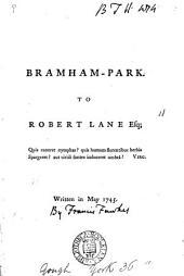 Bramham-Park. To Robert Lane Esq; Written in May 1745: Volume 11