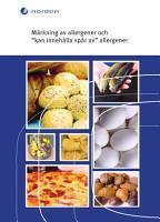 M  rkning av allergener och    kan inneh  lla sp  r av    allergener PDF