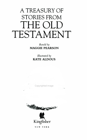 A Treasury of Stories from the Old Testament PDF