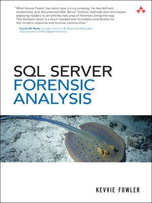 SQL Server Forenisc Analysis PDF