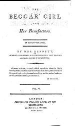 The Beggar Girl and Her Benefactors