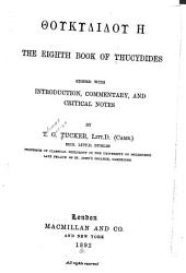 The eighth book of Thucydides