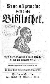 Neue allgemeine deutsche Bibliothek: Band 95