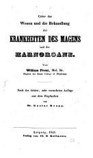 Ueber das Wesen und die Behandlung der Krankheiten des Magens und der Harnorgane PDF