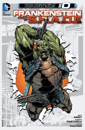 Frankenstein, Agent of SHADE (2012-) #0