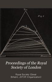Proceedings of the Royal Society of London: Volume 52