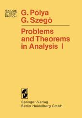 Problems and Theorems in Analysis: Series · Integral Calculus · Theory of Functions