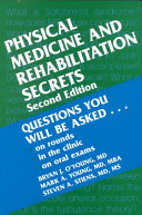 Physical Medicine and Rehabilitation Secrets PDF