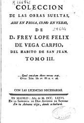 Colección de las obras sueltas assi en prosa como en verso