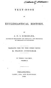 Text-book of Ecclesiastical History: Volume 2