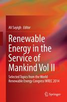 Renewable Energy in the Service of Mankind Vol II PDF