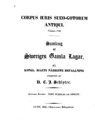 Corpus iuris Sueo Gotorum antiqui  Wisby stadslag och sj  r  tt PDF