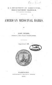 American Medicinal Barks