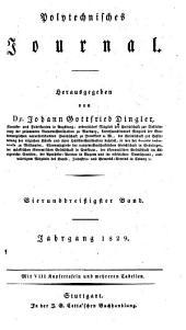 Polytechnisches Journal: Band 34