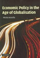 Economic Policy in the Age of Globalisation PDF