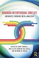 Managing Interpersonal Conflict PDF