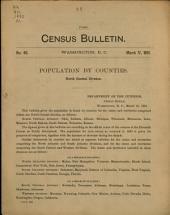 Census Bulletin: Issue 40
