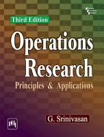 OPERATIONS RESEARCH   PRINCIPLES AND APPLICATIONS PDF