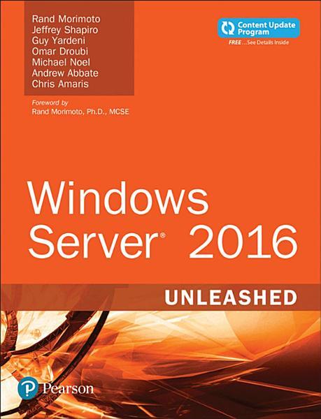 Download Windows Server 2016 Unleashed  includes Content Update Program  Book