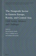 The Nonprofit Sector in Eastern Europe  Russia  and Central Asia PDF