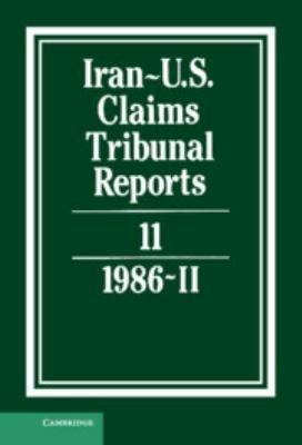 Iran U S  Claims Tribunal Reports  Volume 11