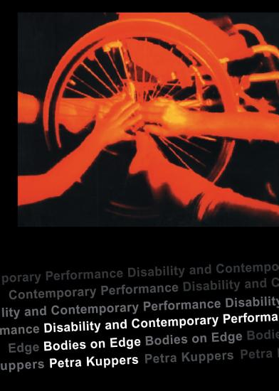 Disability and Contemporary Performance PDF