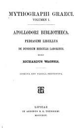 Mythographi graeci: Volume 1