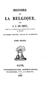 Histoire de la Belgique: Volume2