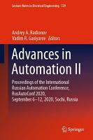 Advances in Automation II PDF