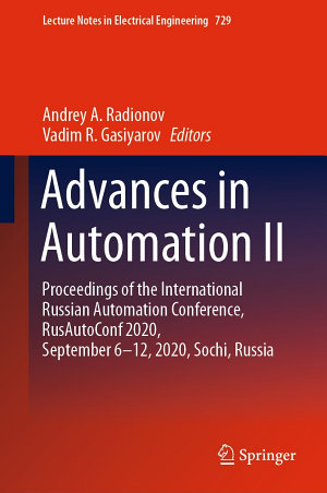 Advances in Automation II