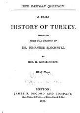 A Brief History of Turkey PDF