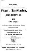 Verzeichnis der im deutschen Buchhandel neu erschienenen und neu aufgelegten B  cher  Landkarten  Zeitschriften  c PDF
