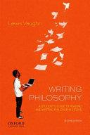 Writing Philosophy