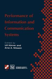 Performance of Information and Communication Systems: IFIP TC6 / WG6.3 Seventh International Conference on Performance of Information and Communication Systems (PICS '98) 25–28 May 1998, Lund, Sweden