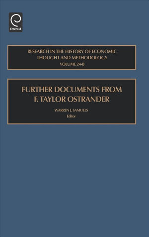Further Documents from F  Taylor Ostrander