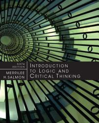 Introduction To Logic And Critical Thinking Book PDF