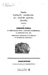 Uberior Coelibatus sacerdotalis qua nunquam pereuntis expositio. Suscepta ab Ignatio Penka