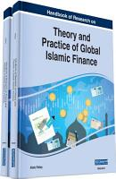 Handbook of Research on Theory and Practice of Global Islamic Finance PDF